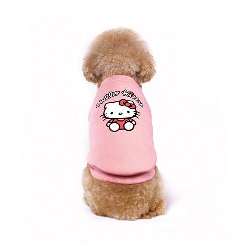 브릭브릭 헬로키티 베이직 티셔츠 핑크
